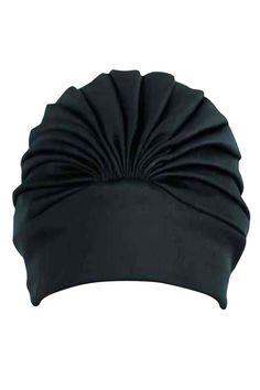 Latex Lined Bathing Turban Cap