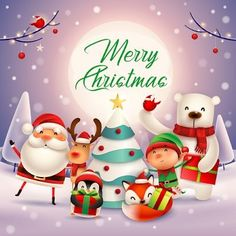 Merry Christmas Images, Merry Christmas And Happy New Year, Christmas Greeting Cards, Christmas Wishes, Christmas Pictures, Christmas Greetings, Christmas Globes, Christmas Scenes, Christmas Art