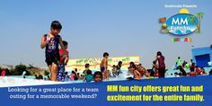 Looking for a great place for a team outing for a memorable weekend? MM fun city offers great fun and excitement for the entire family.