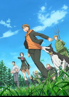 Summer 2013 Silver Spoon, the story of bright student Yugo Hachiken who schemes to get away from his family by enrolling in an agricultural school that requires students to reside in its dorms, only to find it more work than he had envisioned.