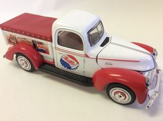 1940 Ford Pepsi Cola Pick Up delivery Truck Golden Wheel 68457 #Ford