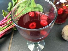 """This fermented beverage is easy to make, high in nutrition from the """"super-food"""" beets, and is, of course, full of probiotics. I like to make a slightly sweet version with raspberries. Traditionally celtic sea salt makes beet kvass a savory beverage that is also rich with the salt's minerals. Here's my sweet version, although who says you can't add a ... Read More"""