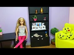 How to make a closet for doll DIY for Dools - YouTube