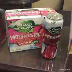 Coming soon!  Bud Light Rita watermelon