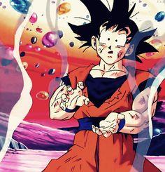 Goku Haha so adorable♡
