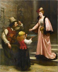 Eleuterio Pagliano (Casale Monferrato 1826–1903 Milan) The Benefit