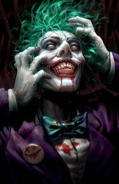 DCeased - The Comic Mint Derrick Chew Trade Dress Variant Cover Joker Batman, Comic Del Joker, Joker Y Harley Quinn, Joker Art, Gotham Batman, Batman Art, Batman Robin, Joker Images, Joker Pics