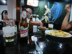 Un bar psychédélique à Managua, Nicaragua