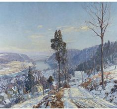 Edward Redfield - Artist, Fine Art Prices, Auction Records for Edward Redfield
