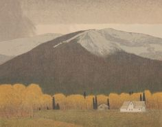fall in the bitterroot valley by russell chatham grandson of the great landscape painter gottardo piazzoni