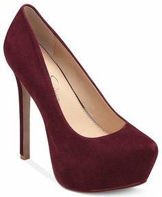0eac805caad Jessica Simpson Jasmint Platform Pumps Shoes - Macy s