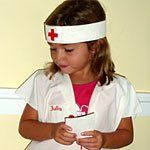Easy NURSE or DOCTOR costume to Make for Kids