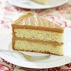 Easy Caramel Cake ~ A Southern favorite, caramel cake boasts a rich toffee-flavored frosting spread over yellow cake layers, but the best part—the caramel frosting that develops a thin, crystalline crust on its exterior—is notoriously troublesome to make. We wanted an easier, even foolproof caramel icing that…