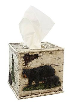 Black Bear on Birch Bathroom Accessories (Tissue Box Cove... https://www.amazon.com/dp/B06XT9SM2G/ref=cm_sw_r_pi_dp_x_7ZuCzbZ95F4HQ