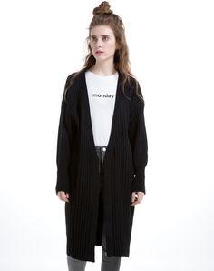 MOOERKERR Black High Neck Wool Blend Maxi Sweater Dress | Maxis ...