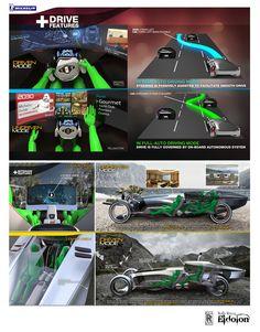 2030 Rolls Royce Eidolon Concept Car with Omni Wheel Technology for Better Maneuverability