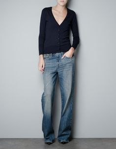 Cardie and jeans