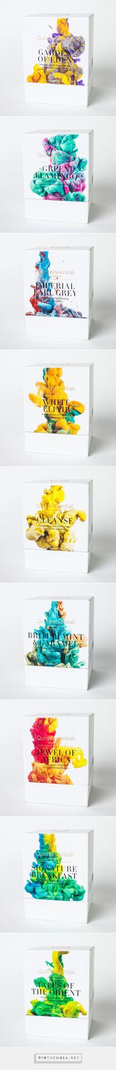 Quinteassential // tea packaging // Alberto Seveso