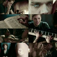 I was beyond thrilled with the scene where Jace was playing the piano! I hope we get more! I may have fallen a little in love <3 swoooon!