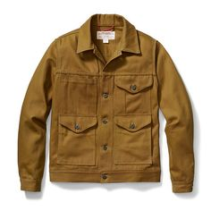 Filson Short Cruiser Jacket in Warm Tan