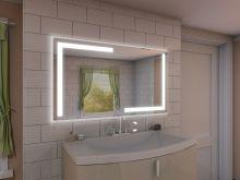 189u20ac 100x80 Badspiegel Mit LED Beleuchtung   Korlin M202L4