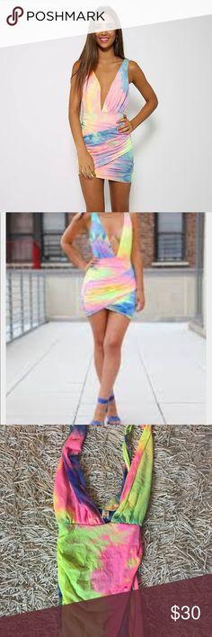 Brand new the dye dress size small Like new without tags ! Size small dollskill Dresses Mini