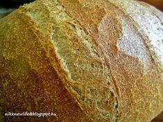 NIKK NEW LIFE - ÚJ ÉLET SZABADON, BOLDOGAN, JÓÍZŰEN: A KENYÉR - teljes kiőrlésű zürichi Bakery, Bread, Food, Search, Brot, Essen, Searching, Baking, Meals