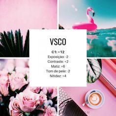 Filtro VSCO para fotos Creative Instagram Photo Ideas, Instagram Tips, Instagram Feed, Vsco Themes, Vsco Photography, Vsco Filter, Photo Editing, Photos, Spa Facial