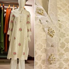 A classic white kurta appropriate for every occasion! #Ensemble #semi-formal