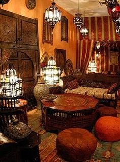 Riads and Moroccan Style!