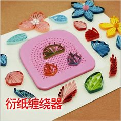 The Quilter's Grid Guide for Paper Crafting Paper Quilling Handmade Paper Craft Tool DIY Paper Quilling Tool