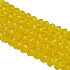 8mm 50pcs/lot Rondelle Faceted Crystal Glass Loose Spacer Beads for Jewelry DIY