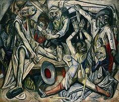 Max Beckmann, 1918-19, The Night (Die Nacht), oil on canvas, 133 x 154 cm, Kunstsammlung Nordrhein-Westfalen, Düsseldorf.jpg