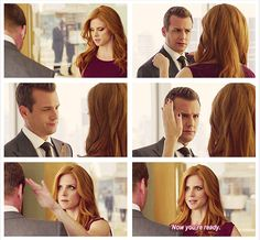 now you're ready. {gif} <3 #suits