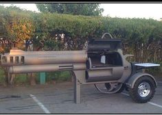 This belongs in my backyard so I can make scrumptious dinners while celebrating my 2nd Amendment Right to BEAR ARMS!