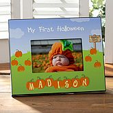 My 1st Halloween Personalized Frame    $24.95