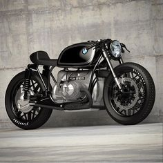 Perfect BMW R90 concept – sweet and simple