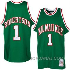 http://www.jordanaj.com/oscar-robertson-mitchell-ness-milwaukee-bucks-hardwood-classics-throwback-green-jersey.html OSCAR ROBERTSON MITCHELL & NESS MILWAUKEE BUCKS HARDWOOD CLASSICS THROWBACK GREEN JERSEY Only $89.00 , Free Shipping!