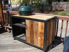 weber grill table diy - Google Search