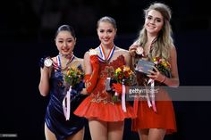 First place winner Alina Zagitova of Russia ,...