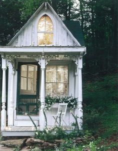 Sometimes... I think I'd like to just build a tiny house somewhere in the woods and start living simply again...