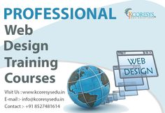 Our #Professional #web #design #training #courses will inspire you to design great professional looking web design training course will benefit those who want to design and edit professional websites... In now day we are giving 30% off for students, And after complete training we give 100% #job #placement in our company. For more details click here : https://goo.gl/9eMZ10