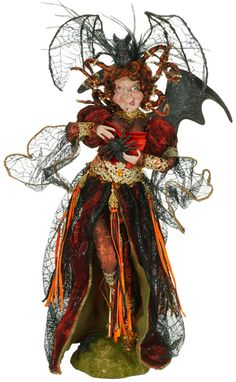 Mark Roberts The Face Say's it all! Halloween Witches, Vintage Halloween, Halloween Ideas, Happy Halloween, Halloween Decorations, Mark Roberts Elves, Mark Roberts Fairies, Witch Dolls, Which Witch