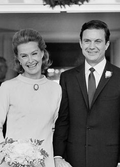 Dina Merrill and Cliff Robertson married in 1966