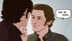 Sweet Sabriel. Not a shipper, but this pic is cute.
