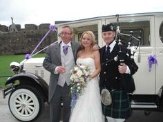 www.johncampbellbagpiper.webs.com   The Bagpiper in South Wales Congratulations to the lovely Lisa  Llion on their marriage last Saturday. I piped for the guests arrival. Followed by the Bride  Groom in the wedding car at Caerphilly Castle. I would like to wish them both all the very best for their future together :-)