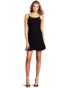 Kensie Women's Textured Twisty Knit Dress, Black, Small « Dress Adds Everyday