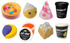 LUSH Cosmetics Christmas in July Products 2014