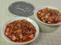 麻婆豆腐 bean curd sauteed with ground meat and chili pepper