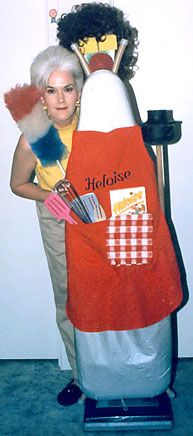 """Heloise: Bridal Shower Present, make a """"maid"""" out of various cleaning supplies"""